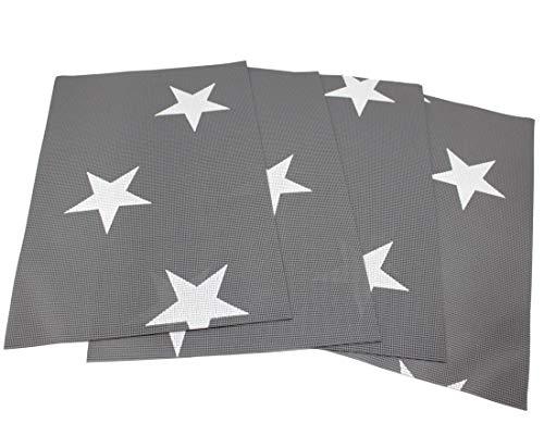 Friedola Miami Tischset, grau, 30 x 45 x 0,4 cm, 40369