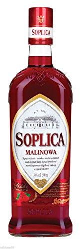 1 Flasche Soplica Malinowa Himbeerlikör aus Polen a 0,5L Likör Himbeer