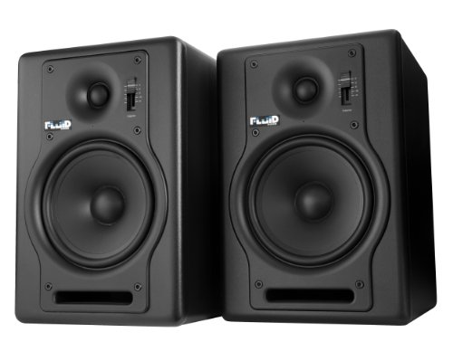 Fluid Audio F5 Fader Series - 70-Watt Bi-amplified Advanced Studio Monitors