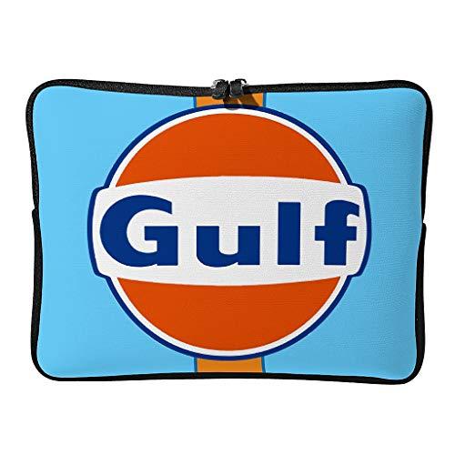 Standard Gulf Racing Laptoptaschen Modern Leicht - Orange Gulf Laptoptasche Geeignet für Arbeit White 15 Zoll