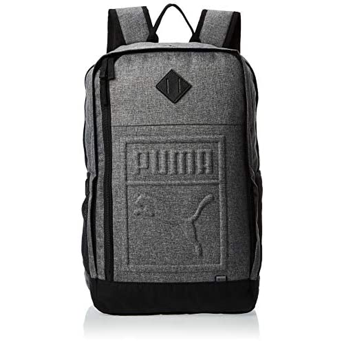 PUMA S Backpack, Zaino Unisex Adulto, Medium Gray Heather, OSFA