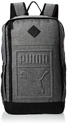 PUMA Unisex– Erwachsene S Backpack Rucksack, Medium Gray Heather, OSFA