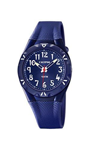 Calypso watches Jungen-Armbanduhr Analog Quarz Plastik K6064/3