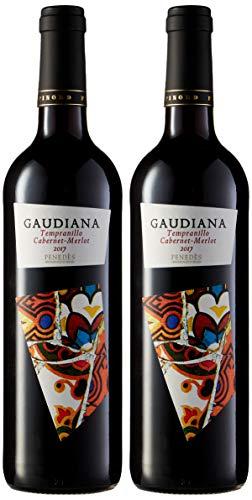 Pinord Gaudiana Tinto Vino - 750 ml - [paquete de 2]