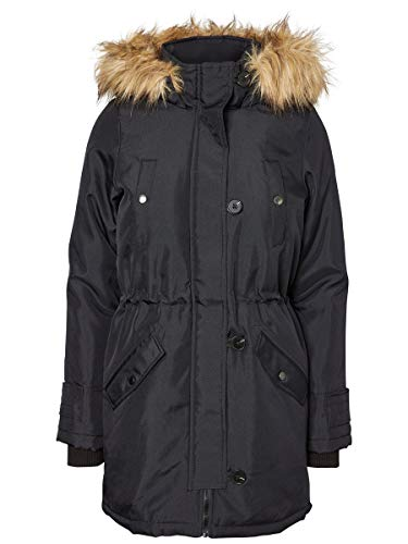VERO MODA Damen Parka Winter XSBlack Beauty