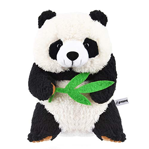 Qwifyu Talking Panda, Repeats What You Say Plush Animal Toy Buddy Panda for Boys Girls Kids Gift
