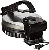 Brentwood TS127 Stainless Steel Non-Stick Electric Tortilla Maker