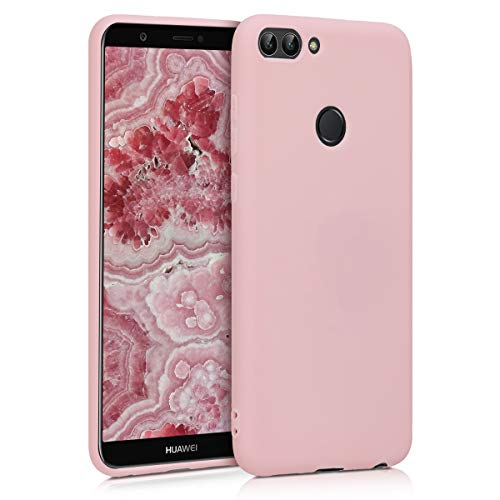 kwmobile Hülle kompatibel mit Huawei Enjoy 7S / P Smart (2017) - Handyhülle - Handy Hülle in Rosegold matt