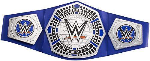 WWE Mattel FMV05 - Championship Gürtel Cruiserweight, verstellbar mit Metallapplikationen