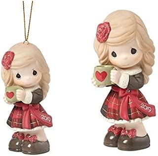 Precious Moments Dated 2019 Girl Figurine and Ornament Bundle, Multi