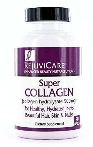 Rejuvicare Liquid Collagen Beauty Formula with Amino Acids, Protein and Biotin, Delicious Grape Flavor 90 Count