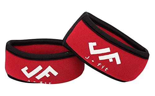 JFIT Wrist Weights 1 Lb Each – Size: SM-MED - Non-Adjustable for a Comfortable Fit -Fits Size Small-Medium Hands