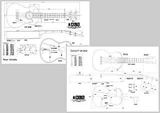 Conjunto de 2Planes–Concert y Tenor ukelele–Escala completa impresiones