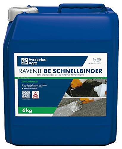 Ravenit BE Schnellbinder Beton Zement Schnell Erhärter (6 kg)