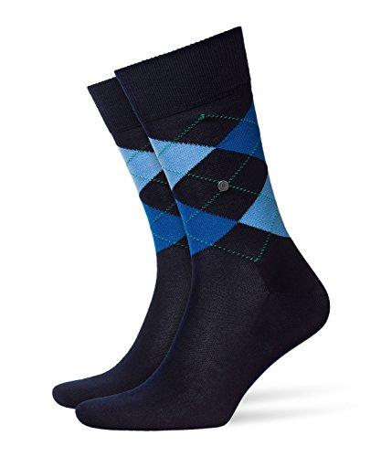 Burlington Herren Socken 20182 Manchester Socke, Blau (Marine 6120), 40-46