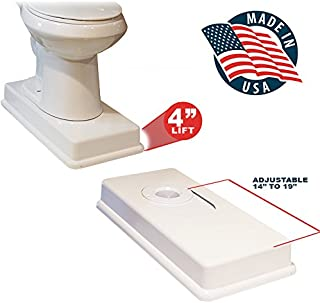 19″ Medway Complete Easy Toilet Riser Kit