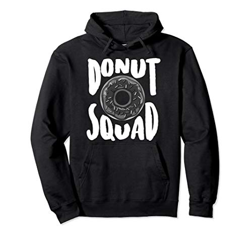 Donut Squad | Cool Donut Lover Doughnut Gift Pullover Hoodie