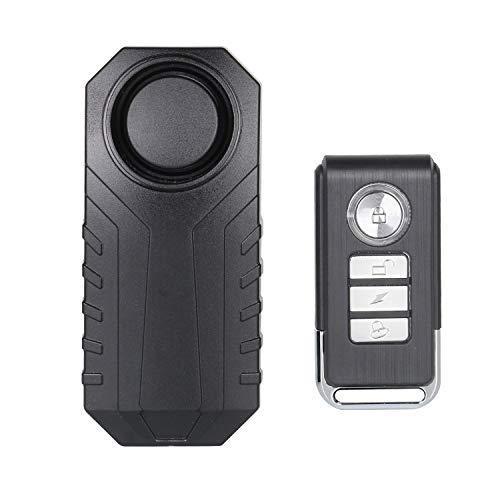 Lancoon Allarme Bici Antifurto Per Moto Veicoli Auto Moto Con Telecomando, 113 dB Super Loud (Confezione Da 1)