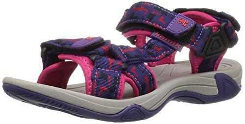 Kamik Girls' LOWTIDE2 Sandal, Purple, 2 M US Little Kid