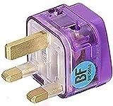 AC Power Travel Adapter Plug for United Kingdom UK England Ireland Scotland Malaysia