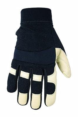 Custom Leathercraft 2067M Work Gloves with Top Grain Goatskin Palm