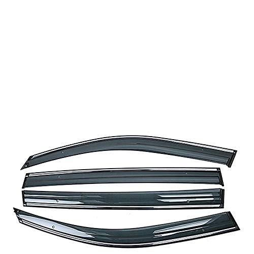 , para Volkswagen VW T6 Transporter Caravelle 2015-2019 Ventana de Coche Viseras de Sombra de Lluvia Escudo Protector de Refugio Cubierta de Marco Etiqueta