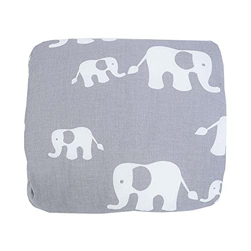 HOBEA-Germany Mini Almohada de Lactancia Almohada de Lactancia de Brazo pequeña Almohada de Lactancia para Viajar Almohada de Lactancia de Viaje en Diferentes diseños (Familia de Elefantes)
