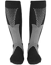 Compression Socks, Unisex Compression Socks Stretch Leg Support Stockings for Nursing Travel Flight Sport