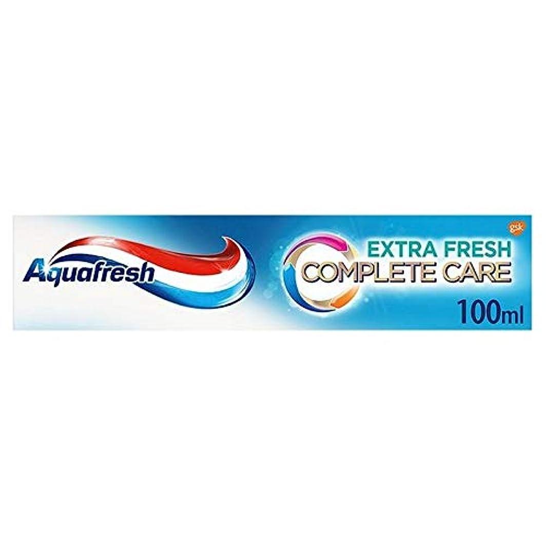 性別清める明るい[Aquafresh ] アクアフレッシュ完全なケアの余分な新鮮な歯磨き粉の100ミリリットル - Aquafresh Complete Care Extra Fresh Toothpaste 100ml [並行輸入品]