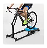 24-29inch Bicycle Training Platform Mountain Bike / Road Bike Roller Riding Platform Indoor Fixed Riding Base (Dark Blue)