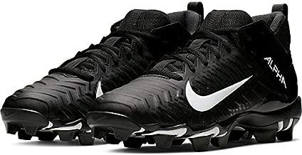 Nike Men's Alpha Menace 2 Shark Football Cleat Black/White/Anthracite Size 7.5 M US