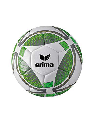 Erima Jugend Senzor Lite 350 Fußball, grau/Green Gecko, 5