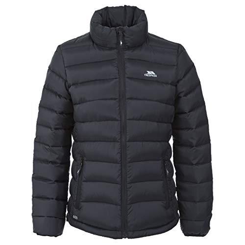 Trespass Letty Padded Womens Down Jacket Short Black Ladies Warm Winter...