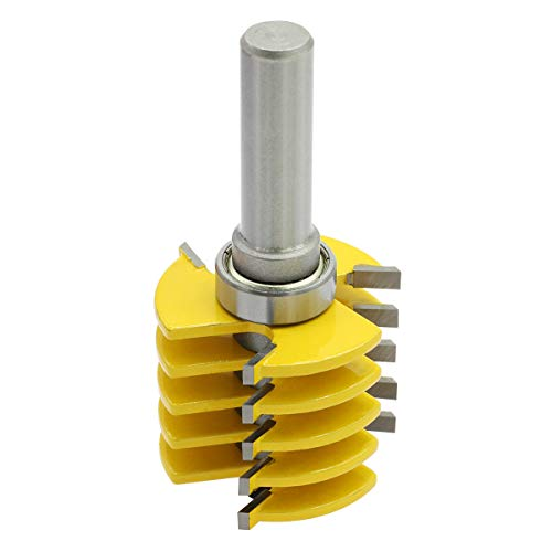 Nxtop 1/2 Inch Shank Finger Joint Router Bit Woodworking Chisel Cutter