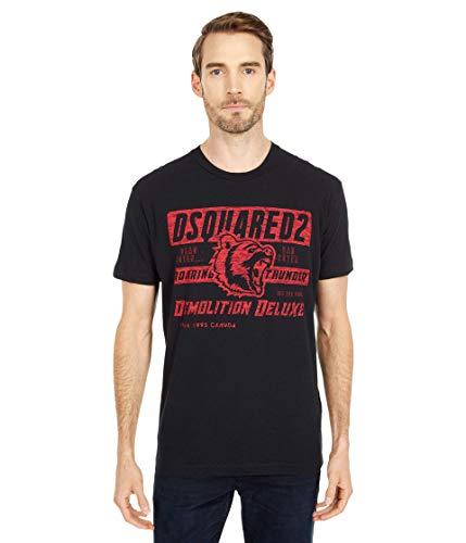 DSQUARED2 Demolition Deluxe Cool Fit T-Shirt Black LG