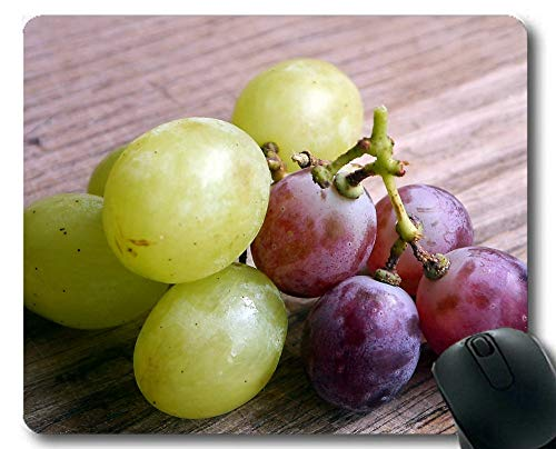 Gaming Mouse Pad Custom,Grapes Wine Fruit Winegrowing Grape Soft Mouse Pads