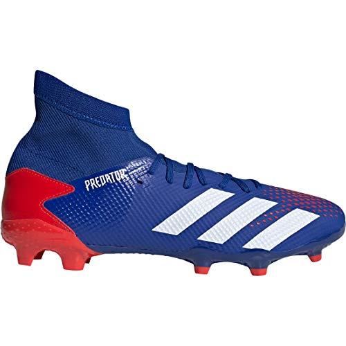 adidas Performance Predator 20.3 FG Fußballschuh Herren blau/rot, 9.5 UK - 44 EU - 10 US