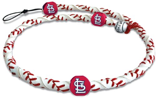 MLB St. Louis Cardinals Classic Frozen Rope Baseball Necklace