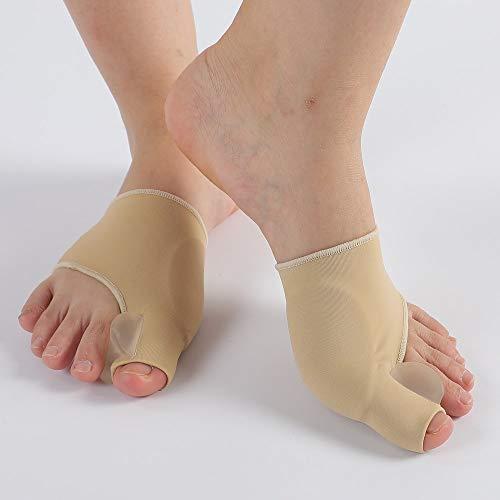 Bunion Corrector , Bunion Splints Bunion Pads - Hallux Valgus Treatment Bunion Socks Protector - Big Toe Straightener Pain Relief for Women & Men
