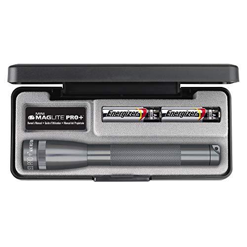Maglite Mini R6 LED Pro plus en boite Gris 16.8 cm