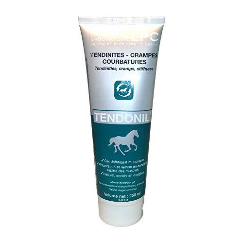 LPC Tendonil Relaxing Gel Entspannungsgel zum Einreiben für Pferd und Reiter 1er Pack (1 x 250 ml) - Muskeln und Gelenke - Natürliche Inhaltsstoffe mit Sauerstoff