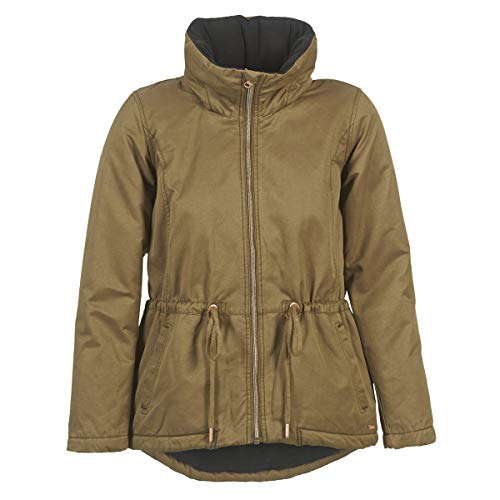 Bench Damen Parka Jacke CONCISE, Braun (Dark Brown KH023), Gr. M