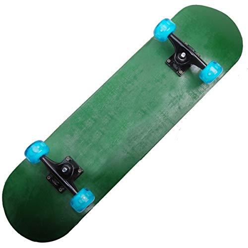 ZHNA Skateboard, Holz mit einem Kick-Trick Skateboard, Konkav Design, geeignet for Anfänger und Kinder