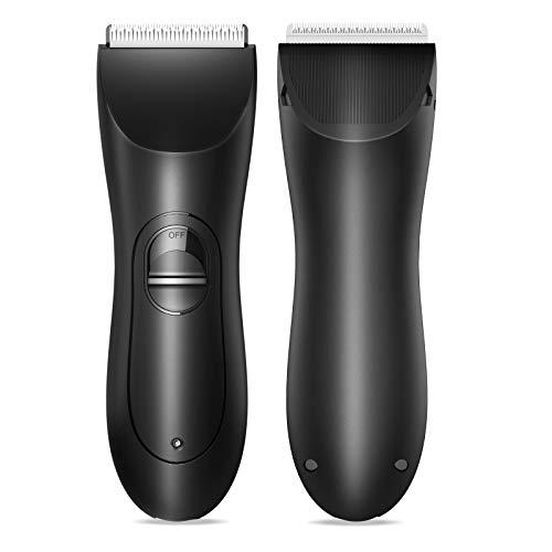 Body Hair trimmer for men, xpreen Rechargeable Body Hair shavers for Men - Family Body Hair Trimming Device, Waterproof Portable Body Hair Trimmer for Men & Kids