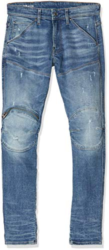 G-STAR RAW heren 5620 3D Zip Knee Skinny Jeans