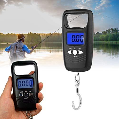 Venhoy Digitale Kofferwaage Elektronische Digital Fischwaagen Handwaage Angeln zubehör Hängewaage Kofferwaage digital mit Haken