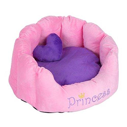 Cómodo Snuggle cama Príncipe Princesa gatos perros lavable