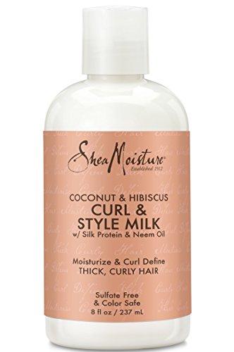 Shea Moisture Coconut & Hibiscus Curl & Style Milk 8 oz