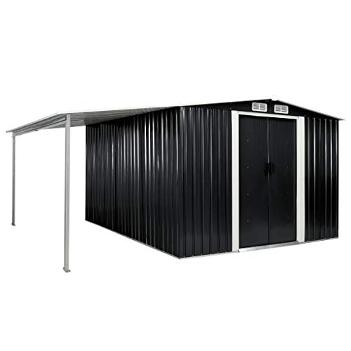 Kshzmoto Gerätehaus mit Schiebetüren...
