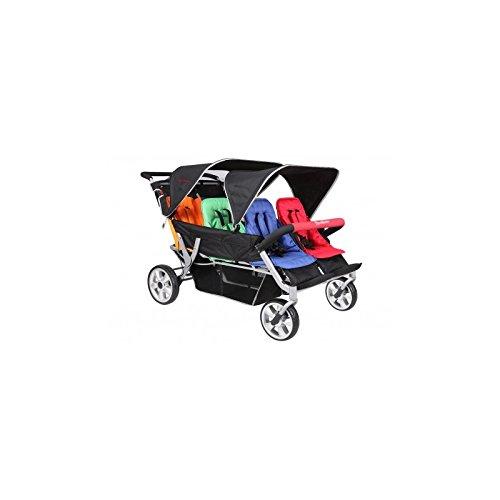 Bus Kinderwagen 6-Sitzer - Lidoo